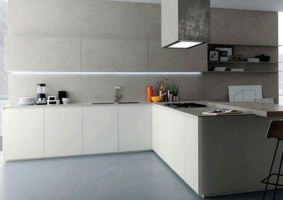hoblolight proyecto cocina perfilería iluminación LED