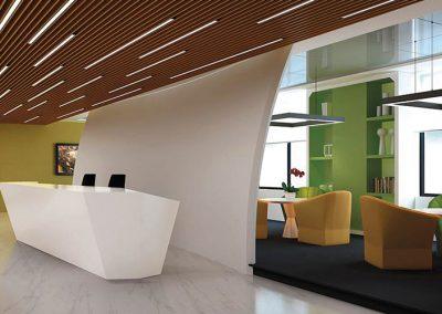 hoblolight proyecto oficina iluminación LED